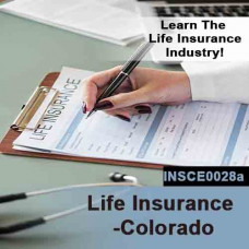 Colorado: 15 hr Life CE - Life Insurance