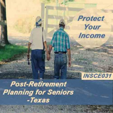 Texas:  4 hrs CE -Post Retirement Planning for Seniors